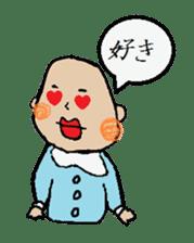Lip Baby sticker #4797044