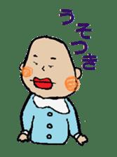 Lip Baby sticker #4797046