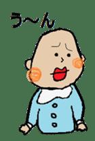 Lip Baby sticker #4797047
