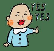Lip Baby sticker #4797078