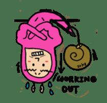 QQ PINK SNAILS sticker #4797167