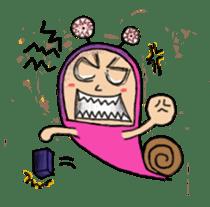 QQ PINK SNAILS sticker #4797169
