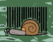 QQ PINK SNAILS sticker #4797174