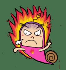 QQ PINK SNAILS sticker #4797183