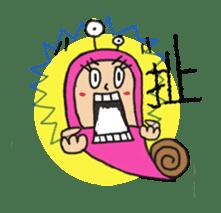 QQ PINK SNAILS sticker #4797196