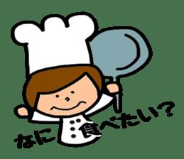 Cooking and Dwarf 1 sticker #4797280