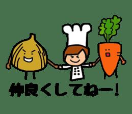 Cooking and Dwarf 1 sticker #4797281