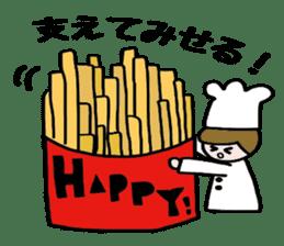 Cooking and Dwarf 1 sticker #4797283