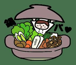 Cooking and Dwarf 1 sticker #4797293