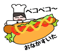 Cooking and Dwarf 1 sticker #4797295
