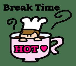 Cooking and Dwarf 1 sticker #4797301