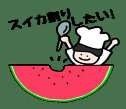 Cooking and Dwarf 1 sticker #4797305