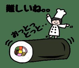 Cooking and Dwarf 1 sticker #4797307