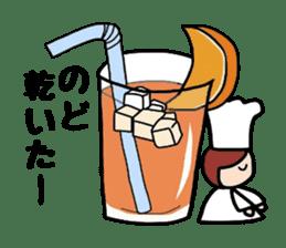 Cooking and Dwarf 1 sticker #4797318