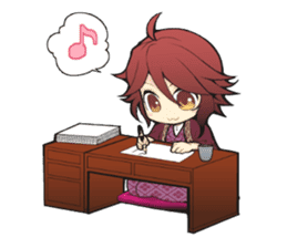 Meikoi chan stamp sticker #4797374