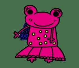 nanachannokaerukun sticker #4797561