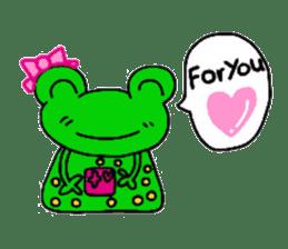 nanachannokaerukun sticker #4797563
