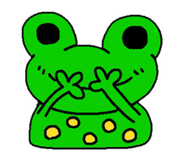 nanachannokaerukun sticker #4797566