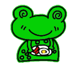 nanachannokaerukun sticker #4797577