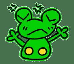 nanachannokaerukun sticker #4797580