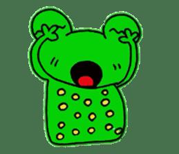 nanachannokaerukun sticker #4797581