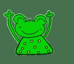 nanachannokaerukun sticker #4797582