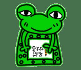 nanachannokaerukun sticker #4797591