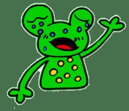 nanachannokaerukun sticker #4797593