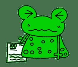nanachannokaerukun sticker #4797594