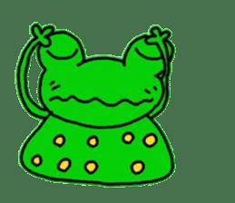 nanachannokaerukun sticker #4797595