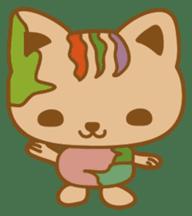 pin pin cat sticker #4798480