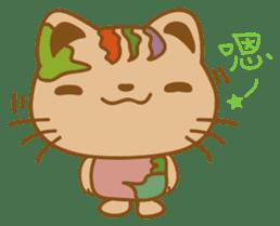 pin pin cat sticker #4798481