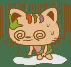 pin pin cat sticker #4798496