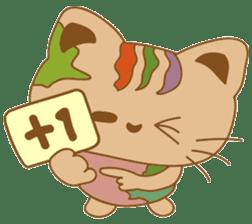 pin pin cat sticker #4798497