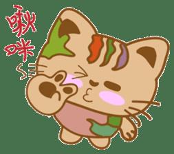 pin pin cat sticker #4798499