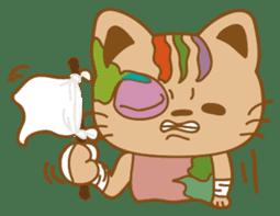 pin pin cat sticker #4798507