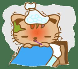 pin pin cat sticker #4798508