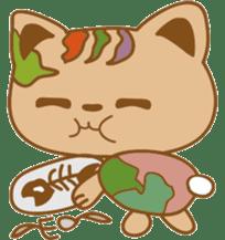pin pin cat sticker #4798511