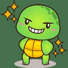 Pura the green turtle ( version 3 ) sticker #4802120