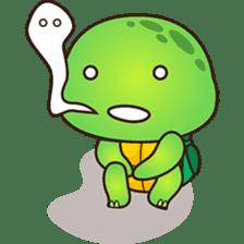 Pura the green turtle ( version 3 ) sticker #4802121