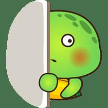 Pura the green turtle ( version 3 ) sticker #4802127