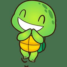 Pura the green turtle ( version 3 ) sticker #4802128