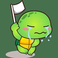 Pura the green turtle ( version 3 ) sticker #4802140