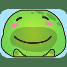 Pura the green turtle ( version 3 ) sticker #4802145