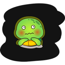 Pura the green turtle ( version 3 ) sticker #4802150