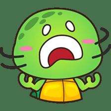 Pura the green turtle ( version 3 ) sticker #4802151