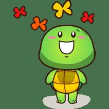 Pura the green turtle ( version 3 ) sticker #4802158