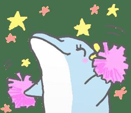 Honobono dolphin sticker #4803162