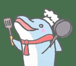 Honobono dolphin sticker #4803168