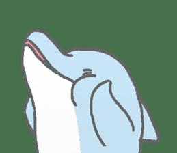Honobono dolphin sticker #4803176